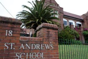 St Andrew's school front gate