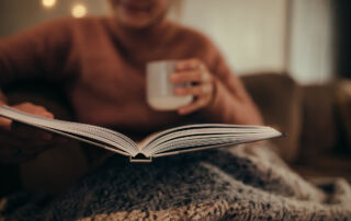 A good book and a cup of tea. Photo - Jacob Lund